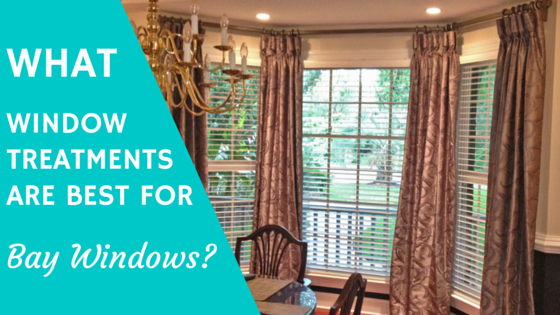 What Window Treatments Are Best For Bay Windows Wilmington Nc