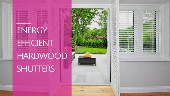 energy efficient shutters