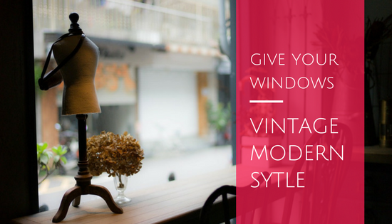 vintage modern windows